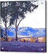 Caperty Valley Australia Acrylic Print