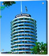 Capital Records Hollywood Acrylic Print