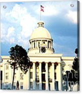 Capitol Building In Montgomery Acrylic Print