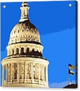 Capitol Dome Color 10 Acrylic Print by Scott Kelley