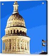 Capitol Dome Color 16 Acrylic Print