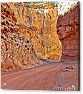 Capitol Gorge Trail At Capitol Reef Acrylic Print