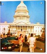 Capitol Hill Washington USA Acrylic Print