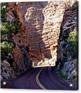 Capitol Reef National Park Road Acrylic Print