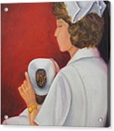 Capping A Tradition Of Nursing Acrylic Print