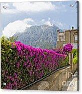Capri Alleyway Acrylic Print