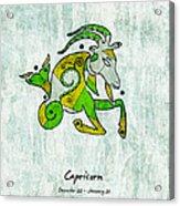 Capricorn Artwork Acrylic Print
