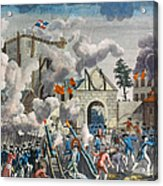 Capture Of Bastille, 1789 Acrylic Print by Granger