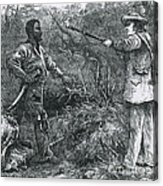 Capture Of Nat Turner, American Rebel Acrylic Print