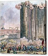 Capture Of The Bastille Acrylic Print by Granger
