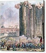 Capture Of The Bastille Acrylic Print