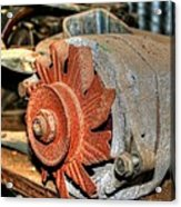 Car Alternator Acrylic Print