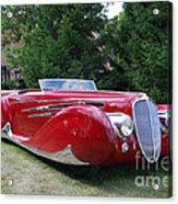 Car At Meadowbrook Acrylic Print