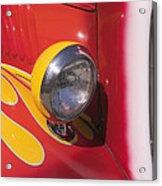 Car Headlight Acrylic Print by Garry Gay