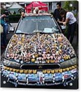 Car Of Teeth Acrylic Print