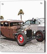Car Show Cool Acrylic Print by Steve McKinzie