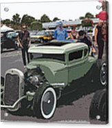 Car Show Coupe Acrylic Print by Steve McKinzie