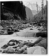 Carbon River Acrylic Print