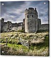 Carew Castle Pembrokeshire Long Exposure 2 Acrylic Print