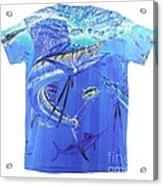 Carey Chen Mens Sailfish Shirt Acrylic Print