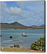 Caribbean Cove Acrylic Print