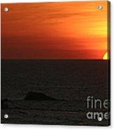 Caribbean Sunset Acrylic Print by Torsten Dietrich