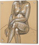 Carina Seated Acrylic Print