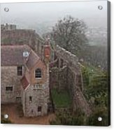 Carisbrook Castle Acrylic Print