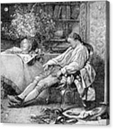 Carl Linnaeus, Swedish Botanist Acrylic Print
