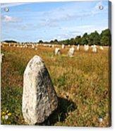 Carnac Standing Stones Acrylic Print