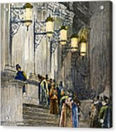 Carnegie Hall, 1891 Acrylic Print