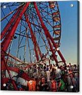 Carnival - An Amusing Ride  Acrylic Print