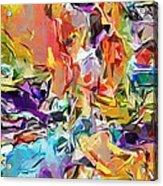 Carnival Abstract 082512 Acrylic Print