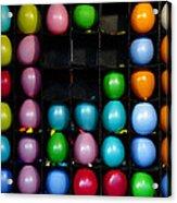 Carnival Balloons Acrylic Print