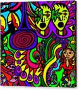 Carnival Day Acrylic Print