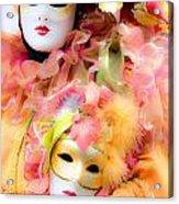 Carnival Mask Acrylic Print