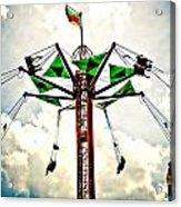 Carnival Swings Acrylic Print