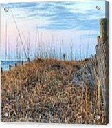 Carolina Pastels Acrylic Print by JC Findley