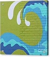Carolina Wave Acrylic Print