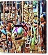 Carousel 7 - Fractals Acrylic Print