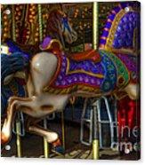 Carousel Beauties Going Away Acrylic Print