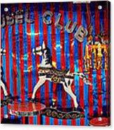 Carousel Club Acrylic Print