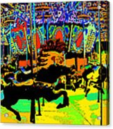 Carousel Colors Acrylic Print
