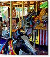 Carousel Fun Acrylic Print