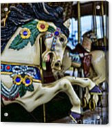 Carousel Horse 5 Acrylic Print by Paul Ward
