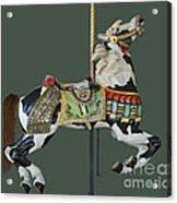 Carousel Paint Horse Acrylic Print