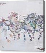 Carousel Parade Acrylic Print