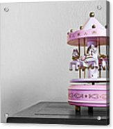 Carousel Toy  Acrylic Print