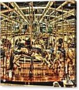 Carousel With Horses Acrylic Print