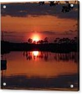 Carrabelle Sunset Acrylic Print